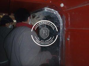 纳米气凝胶板应用于--矿用救生舱