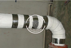 纳米气凝胶毡应用于--蒸汽管道保温